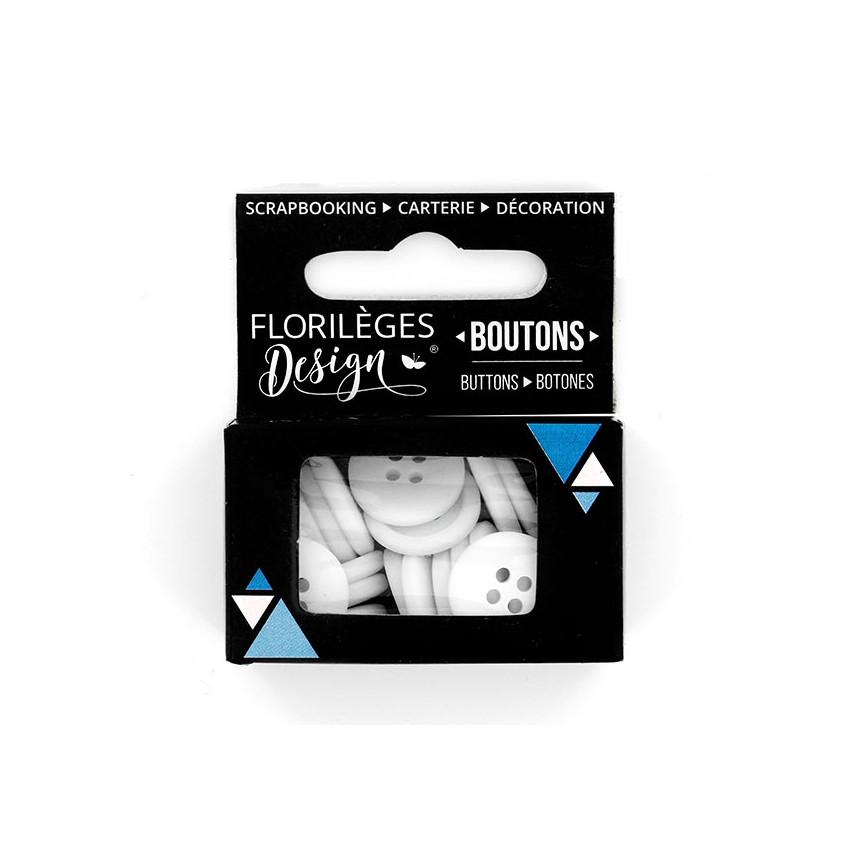 PROMO de -99.99% sur Boutons Edelweiss Florilèges Design
