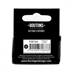 PROMO de -99.99% sur Boutons Ivoire Florilèges Design
