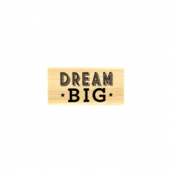 PROMO de -99.99% sur Tampon bois DREAM BIG Florilèges Design