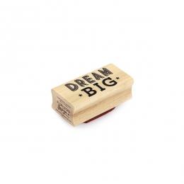 PROMO de -99.99% sur Tampon bois DREAM BIG Florilèges Design