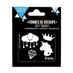 Outils de découpe RÊVE DE PRINCESSE par Florilèges Design. Scrapbooking et loisirs créatifs. Livraison rapide et cadeau dans ...