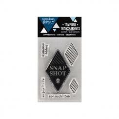 PROMO de -99.99% sur Tampon clear SNAPSHOT Florilèges Design