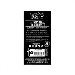 Tampon clear SE SOUVENIR AVEC TENDRESSE - Capsule Mai par Florilèges Design. Scrapbooking et loisirs créatifs. Livraison rapi...