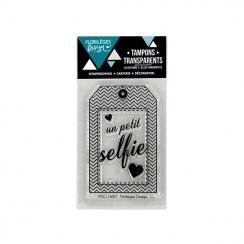 Tampons clear PETIT SELFIE par Florilèges Design. Scrapbooking et loisirs créatifs. Livraison rapide et cadeau dans chaque co...