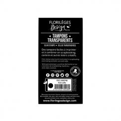 PROMO de -60% sur Tampons clear PETIT SELFIE Florilèges Design