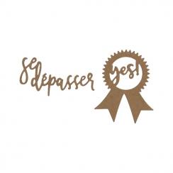 Outils de découpe SE DÉPASSER par Florilèges Design. Scrapbooking et loisirs créatifs. Livraison rapide et cadeau dans chaque...