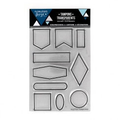 Parfait pour créer : Tampons clear DIX ÉTIQUETTES par Florilèges Design. Livraison rapide et cadeau dans chaque commande.