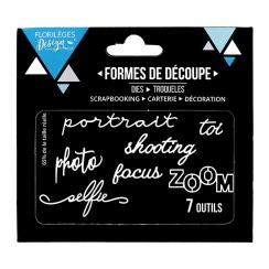 Outils de découpe ZOOM par Florilèges Design. Scrapbooking et loisirs créatifs. Livraison rapide et cadeau dans chaque commande.