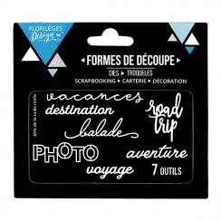 Outils de découpe PHOTO par Florilèges Design. Scrapbooking et loisirs créatifs. Livraison rapide et cadeau dans chaque comma...