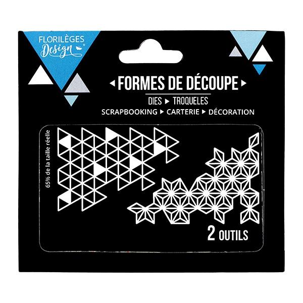 Outils de découpe BOUTS GÉOMÉTRIQUES X3