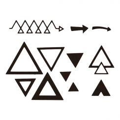 Outils de découpe TRIANGLES X3