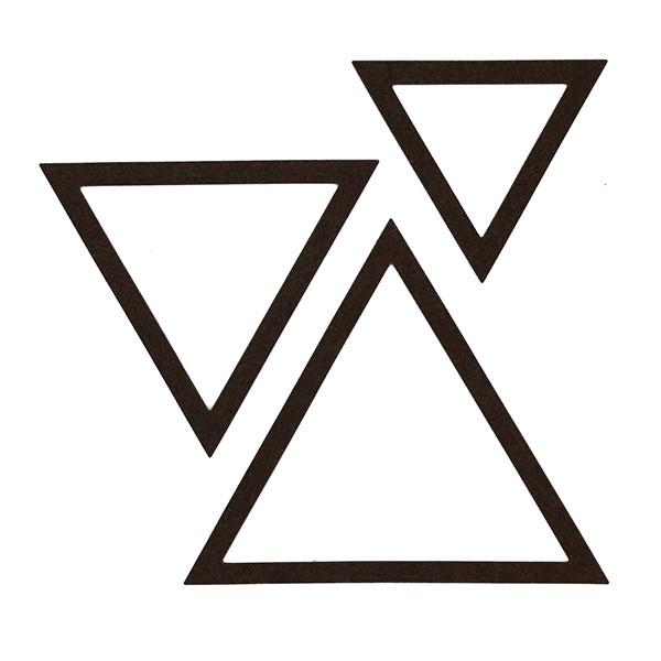 Outils de d coupe triangles x3 for Outil de decoupe