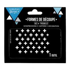Outil de découpe DES CROIX par Florilèges Design. Scrapbooking et loisirs créatifs. Livraison rapide et cadeau dans chaque co...