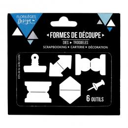 Commandez Outils de découpe ONGLETS Florilèges Design. Livraison rapide et cadeau dans chaque commande.