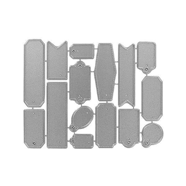 Outils de d coupe quinze tiquettes x3 for Outil de decoupe