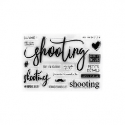 Combo Clear Die SHOOTING par Florilèges Design. Scrapbooking et loisirs créatifs. Livraison rapide et cadeau dans chaque comm...