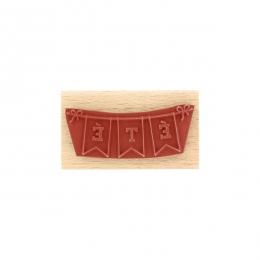 Commandez Tampon bois BANDEROLE ÉTÉ Florilèges Design. Livraison rapide et cadeau dans chaque commande.