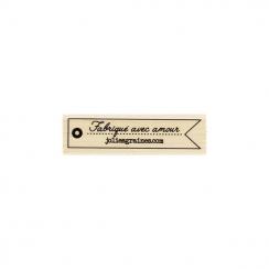 Tampon bois JOLIES GRAINES par Florilèges Design. Scrapbooking et loisirs créatifs. Livraison rapide et cadeau dans chaque co...