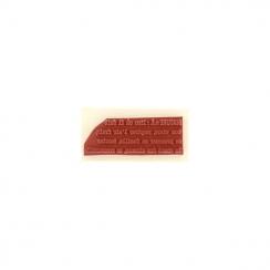 Tampon bois DÉFINITION NATURE par Florilèges Design. Scrapbooking et loisirs créatifs. Livraison rapide et cadeau dans chaque...