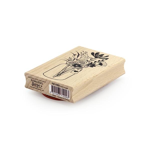 Tampon bois GRAND BOUQUET