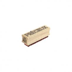 Tampon bois PRÉCIEUX 3D par Florilèges Design. Scrapbooking et loisirs créatifs. Livraison rapide et cadeau dans chaque comma...