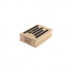 Tampon bois BONHEUR BRUT par Florilèges Design. Scrapbooking et loisirs créatifs. Livraison rapide et cadeau dans chaque comm...