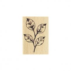 Commandez Tampon bois FEUILLAGE ESQUISSÉ Florilèges Design. Livraison rapide et cadeau dans chaque commande.