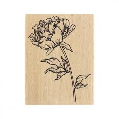 PROMO de -30% sur Tampon bois FLEUR À BOUQUET Florilèges Design