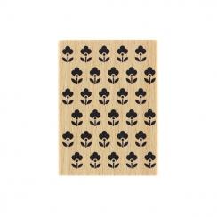 PROMO de -99.99% sur Tampon bois PETITES FLEURETTES Florilèges Design