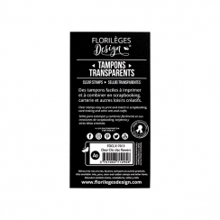 Tampons clear CLIC CLAC FLOWERS-Capsule Mai 2017