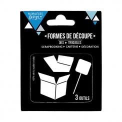 Outils de découpe BOITE À SURPRISES par Florilèges Design. Scrapbooking et loisirs créatifs. Livraison rapide et cadeau dans ...