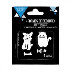 Outils de découpe PETITS COMPAGNONS par Florilèges Design. Scrapbooking et loisirs créatifs. Livraison rapide et cadeau dans ...