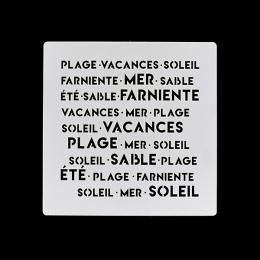 Pochoir EN VACANCES- Capsule Juillet 2017 par Florilèges Design. Scrapbooking et loisirs créatifs. Livraison rapide et cadeau...