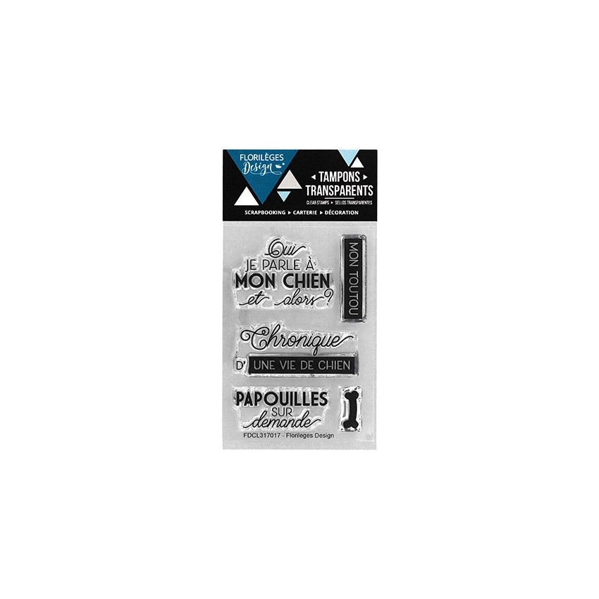 Tampons clear UNE VIE DE CHIEN- Capsule Juin 2017