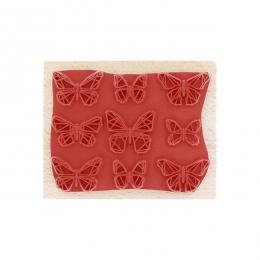 Tampon bois PAPILLONS GRAPHIQUES par Florilèges Design. Scrapbooking et loisirs créatifs. Livraison rapide et cadeau dans cha...