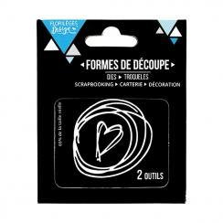 Outils de découpe À LA MAIN par Florilèges Design. Scrapbooking et loisirs créatifs. Livraison rapide et cadeau dans chaque c...