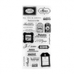 Tampons clear SOUHAITS par Florilèges Design. Scrapbooking et loisirs créatifs. Livraison rapide et cadeau dans chaque commande.
