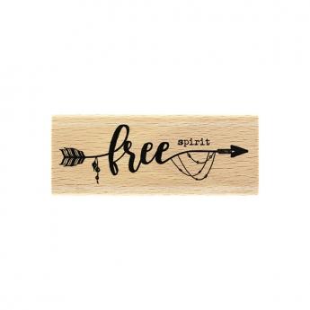 Tampon bois Free Spirit
