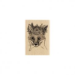 PROMO de -40% sur Tampon bois RENARD GYPSY Florilèges Design