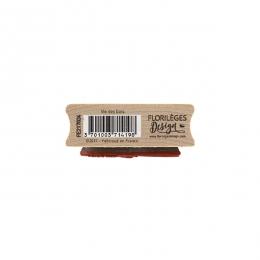 Tampon bois VIE DES BOIS par Florilèges Design. Scrapbooking et loisirs créatifs. Livraison rapide et cadeau dans chaque comm...