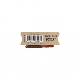 PROMO de -60% sur Tampon bois EVERY DAY COUNT Florilèges Design