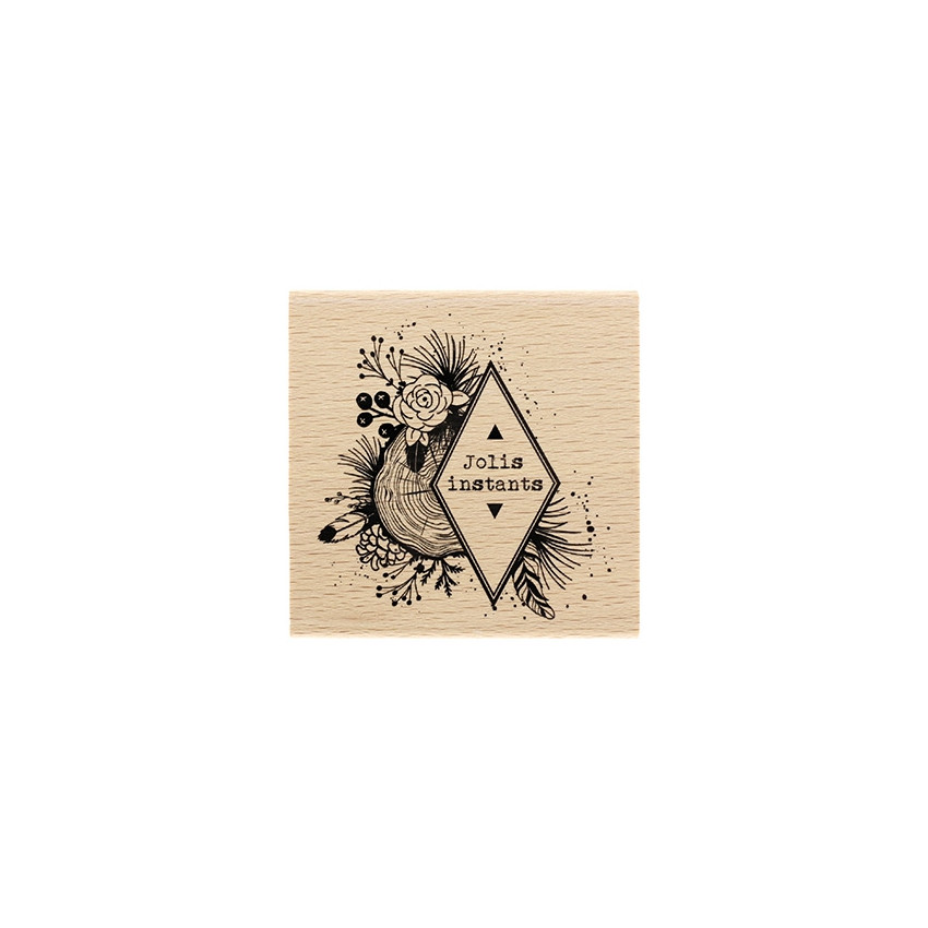Tampon bois Instants Naturels