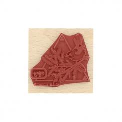 Tampon bois OISEAU DES FORÊTS par Florilèges Design. Scrapbooking et loisirs créatifs. Livraison rapide et cadeau dans chaque...