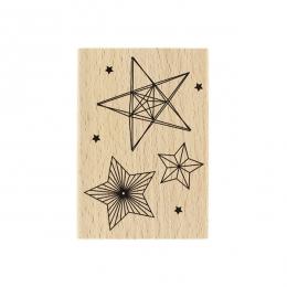 Tampon bois Trois Étoiles
