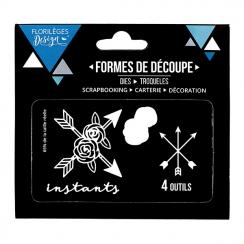 Outils de découpe INSTANTS FLEURIS X3