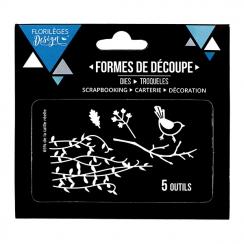 Outils de découpe BRANCHAGES par Florilèges Design. Scrapbooking et loisirs créatifs. Livraison rapide et cadeau dans chaque ...