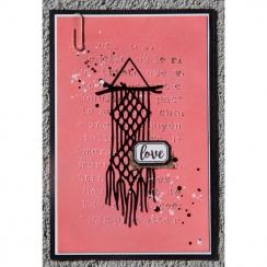 Outils de découpe PEACE AND LOVE par Florilèges Design. Scrapbooking et loisirs créatifs. Livraison rapide et cadeau dans cha...