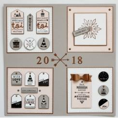 Tampon bois CHRISTMAS par Florilèges Design. Scrapbooking et loisirs créatifs. Livraison rapide et cadeau dans chaque commande.