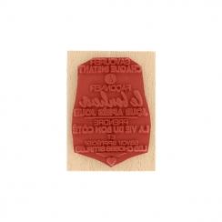 Commandez Tampon bois FAÇONNER LE BONHEUR Florilèges Design. Livraison rapide et cadeau dans chaque commande.