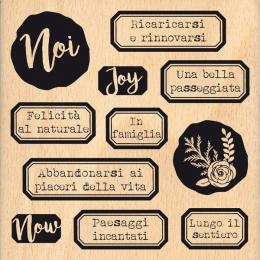 Tampon bois italien FELICITA AL NATURALE par Florilèges Design. Scrapbooking et loisirs créatifs. Livraison rapide et cadeau ...